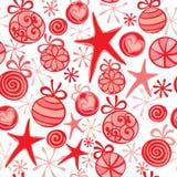 Christmas wrapping Stock Photography