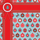 Christmas wrapping Stock Photography
