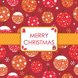 Christmas wrapping Stock Images