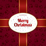 Christmas wrapping Royalty Free Stock Images