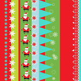 Christmas wrapping paper Stock Images