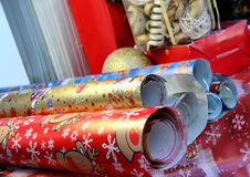 Christmas wrapping paper Royalty Free Stock Image