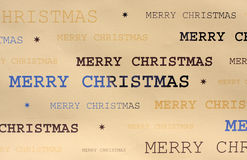 Christmas wrapping paper Royalty Free Stock Photos