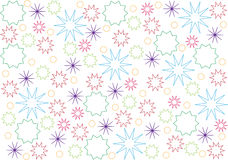 Christmas wrapping paper Stock Image