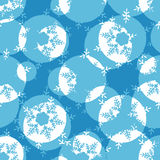 Christmas wrapping paper pattern Royalty Free Stock Images