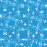 Christmas wrapping paper pattern Stock Photo