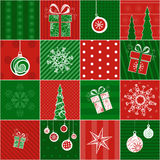 Christmas wrapping paper. Stock Image