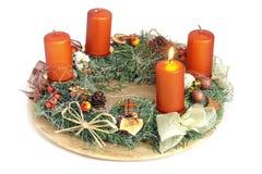 Christmas wreath Royalty Free Stock Photography