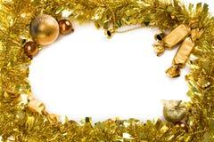 Christmas wreath stock photo