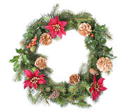Free Christmas Wreath Stock Photo - 1370170