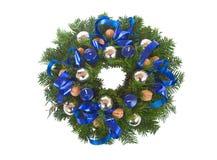 Christmas Wreath. Isolated on white Royalty Free Stock Image
