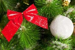 Christmas wreath. Green round Christmas wreath on white background Royalty Free Stock Image