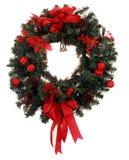 Christmas wreath stock photos