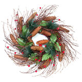 Christmas Wreath stock photography