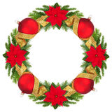 Christmas wreath. Royalty Free Stock Photo