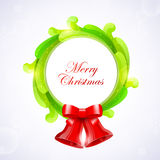 Christmas wreath Royalty Free Stock Images