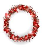 Сhristmas wreath Royalty Free Stock Photos