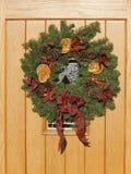 Christmas wreath Stock Image