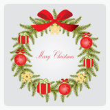 Christmas wreath. Stock Image
