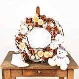 Christmas wreath Royalty Free Stock Image