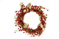 Christmas Wreath. Beautiful Christmas Wreath for hanging on your door Royalty Free Stock Image