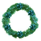 Christmas wreath stock photos