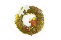 Christmas wreath Royalty Free Stock Photo