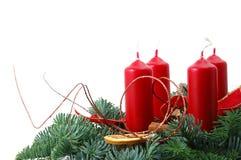 christmas wreath στοκ φωτογραφίες