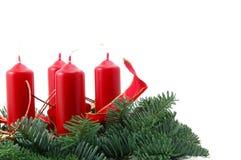 christmas wreath στοκ εικόνα με δικαίωμα ελεύθερης χρήσης
