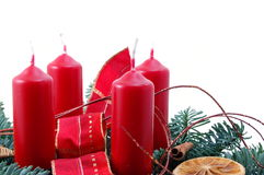 christmas wreath στοκ εικόνες