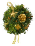 Christmas wreath. Decorate christmas wreath Royalty Free Stock Photography