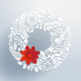 Christmas wreath. Stock Photo