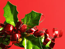 Christmas wreath bell decoration royalty free stock photo