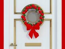 Christmas wreath. Stock Photo