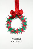 Christmas wreath. Royalty Free Stock Images