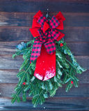 Christmas Wreath Decoration Royalty Free Stock Image