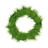 Christmas wreath decoration icon. Vector illustration design Stock Images