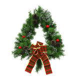 Christmas Wreath Decoration Stock Images