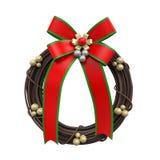 Christmas Wreath Decoration Stock Photos