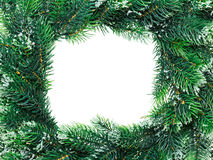 Christmas wreath framework Royalty Free Stock Photo
