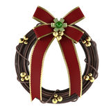 Christmas wreath isolated. See my other works in portfolio Stock Photos