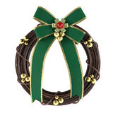 Christmas wreath isolated. See my other works in portfolio Royalty Free Stock Photo