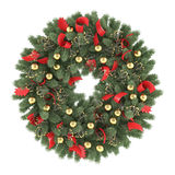 Christmas wreath isolated. See my other works in portfolio Stock Images