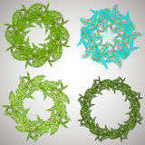 Christmas wreath. Merry Christmas. Royalty Free Stock Image