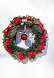 Christmas Wreath Mission San Luis Obispo de Tolosa California Stock Photos