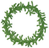 Christmas wreath new Stock Image