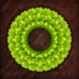 Christmas wreath vector Stock Photography