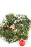 Christmas wreaths Stock Photo
