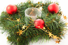 Christmas wreaths Stock Image