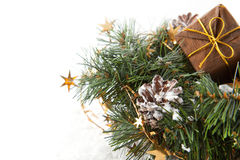 Christmas wreaths Stock Photography